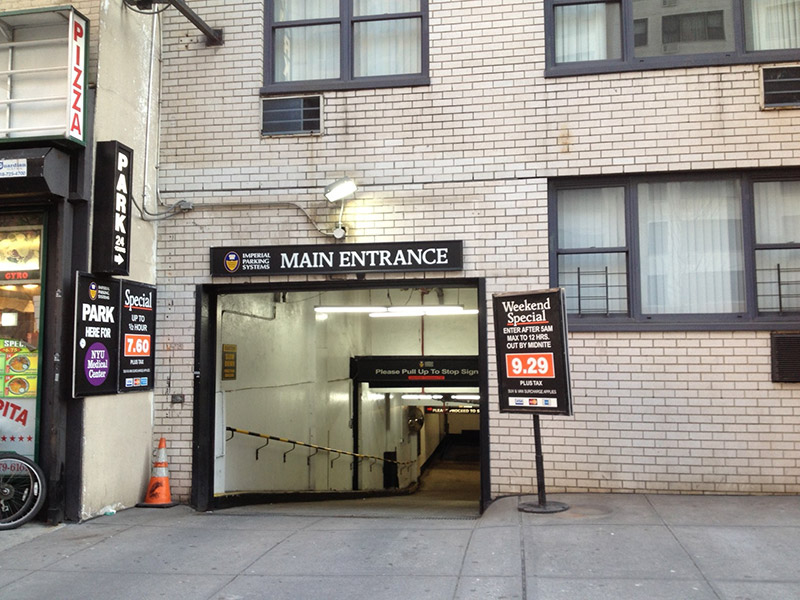 NYC Parking 340 E  34 Garage Corp