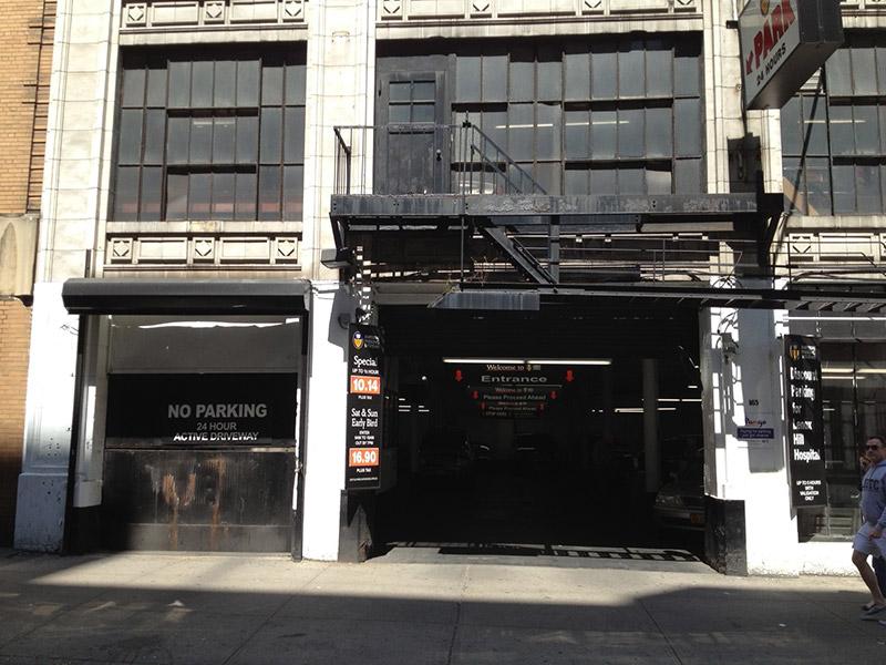 NYC Parking 165 E 77 St  Garage Corp